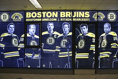 Boston Bruins (the_mel) Tags: hockey sign boston nhl display massachusetts bruins bostonbruins markrecchi nathanhorton zdenochara tdgarden patricebergeron milanlucic davidkrejci