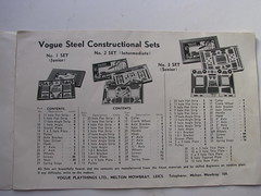 vogue sets (meccanohig) Tags: steel vogue sets constructional