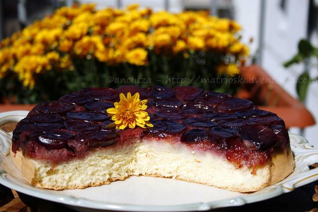 torta rovesciata alle susine prugne