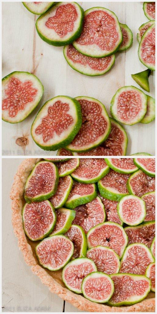 Calimyrna figs collage