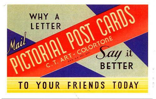 Say it better - mail pictorial post cards