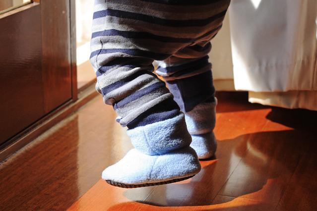 Polar Fleece Baby Booties Things For Boys
