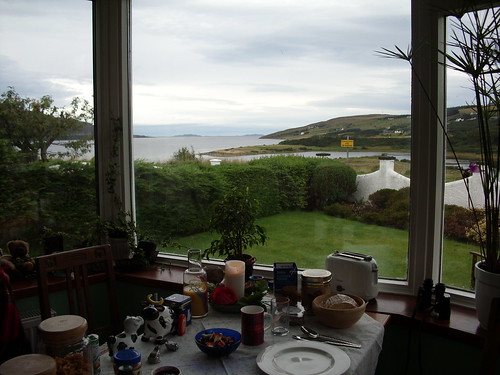 My breakfast table, Ullapool