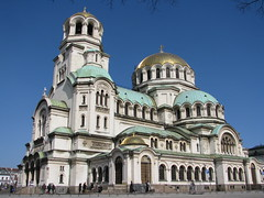 Sofia - Cathedral - Bulgaria (Been Around) Tags: building church march europa europe cathedral sofia urlaub travellers kathedrale eu bulgaria orthodox mrz bul bulgarien 2011 alexandernevskycathedral   onlyyourbestshots concordians thisphotorocks worldtrekker  expressyourselfaward bauimage alexandernevskikathedrale