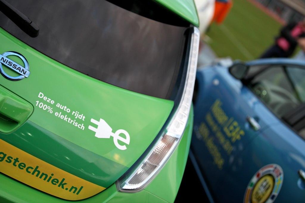 Nissan Leaf event 2011 - Olympisch stadion Amsterdam