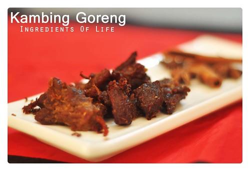 kambing goreng