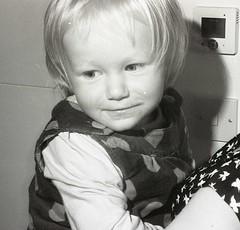Anna, FED 3 (Sibokk) Tags: uk blackandwhite bw anna white black film monochrome 35mm mono scotland fife flash rangefinder flashphotography xp2 35mmfilm filmcamera ilfordxp2 fed ilford northqueensferry fed3 russiancamera filmphotography russiancameras 35mmfilmcamera believeinfilm nprfilm