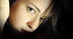 Self Portrait (Martina Lunardon) Tags: portrait selfportrait canon ombra occhi sguardo 550d