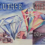 "<b>Time at Luther</b><br/> Anita Wildermuth ('61) (Watercolor, 2011)<a href=""//farm7.static.flickr.com/6172/6163381845_1f14164824_o.jpg"" title=""High res"">∝</a>"