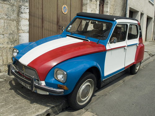 Citroën Dyane - French Tricolor / Dave