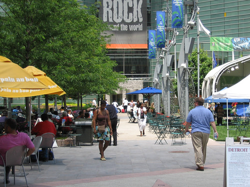 Campus Martius Park in downtown Detroit (by: jodelli, creative commons license)