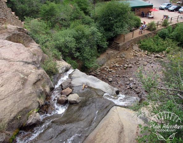 Top of Helen Hunt Falls