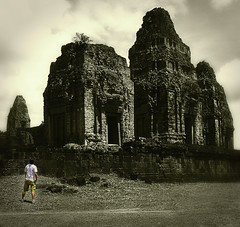 i explore my dreams.. (PNike (Prashanth Naik)) Tags: building architecture temple nikon ruins asia cambodia experiment surreal structure dreams concept siemreap crumbling d7000 pnike