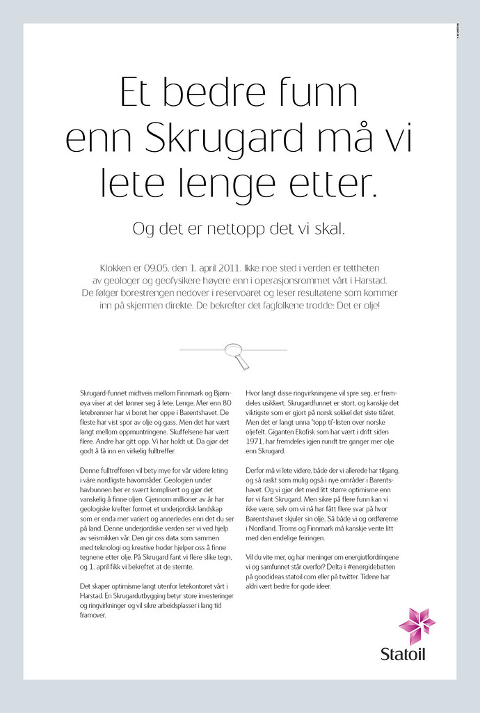 Statoil ASA_Skrugard