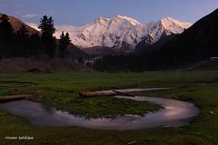Nanga Parbat 8126m. (Mountain Photographer) Tags: pakistan sunset mountain mountains altitude peak peaks himalaya slowmotion himalya 8000m himalays 7000m highaltitudes alttitude northranarea rizwansaddique fairymadows gettyimagespakistanq2 nangaparbat8126m highalttitude