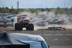 Monster Truck Drift (simmonsphotography) Tags: ford chevrolet race honda seat toyota bmw monstertruck motorsport vauxhall btcc ginetta touringcar rockinghammotorspeedway