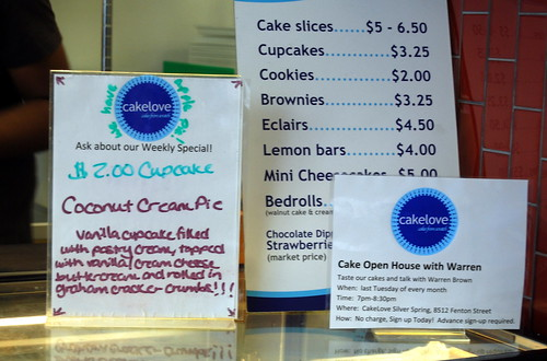 cakelove - specials and pricing