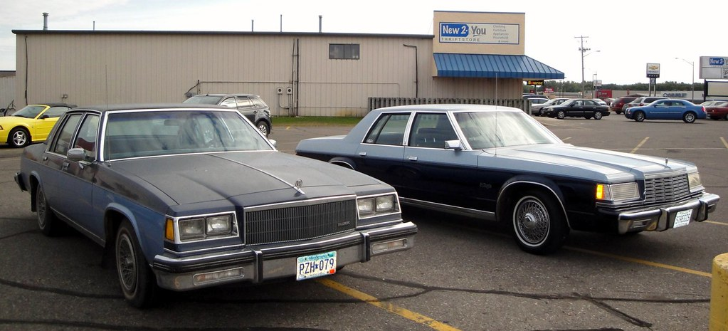 B C F B on 1985 Buick Lesabre Collectors Edition
