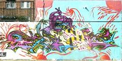 Favour (Voodoodi London) Tags: park street streetart london art graffiti estate monsters favor demons stockwell favour faver