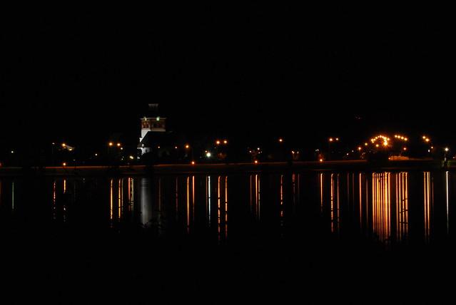 Bollnäs by night