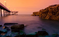 Nightcliff Jetty In Darwin NT (Kiall Frost) Tags: sunset nt jetty darwin nightcliff kiallfrost