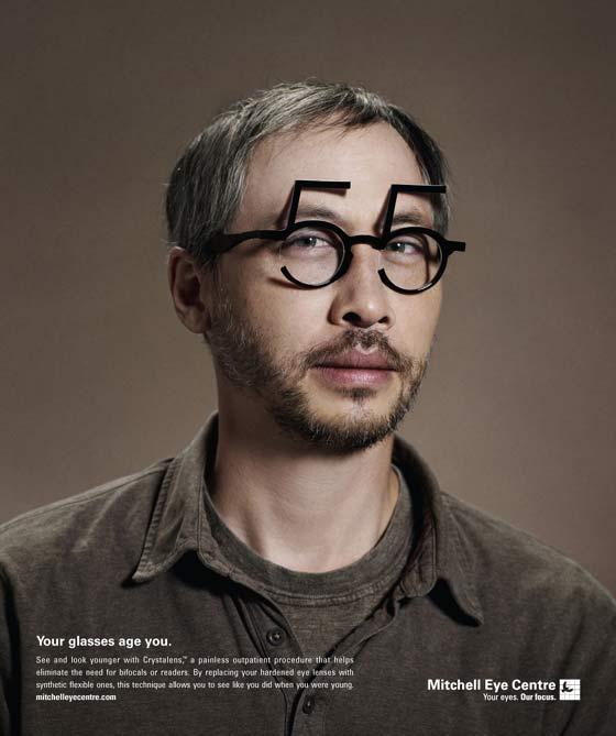 publicidad de lentes