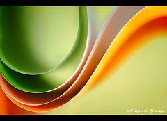 Paper Waveforms (bnilesh) Tags: abstract paper pattern shapes paperabstractwavewaveformmacrocolorindoreindia