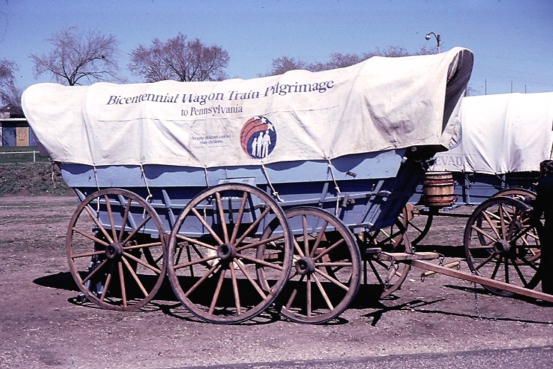Minnesota, St. Paul, Bicentennial Wagon Train Pilgrimage