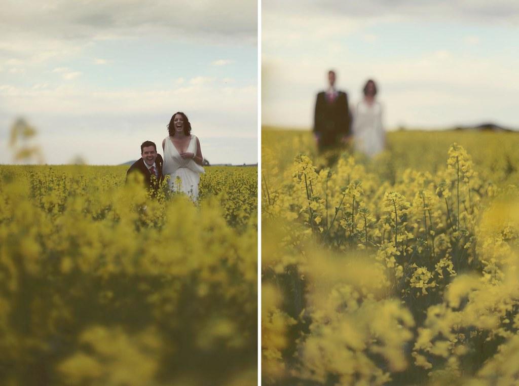 Daylesford wedding field