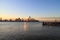 lower Manhattan (pmarella) Tags: sunrise pmarella hudsonriver lowermanhattan riverviewpkproductions icoverthewaterfront myeyeshaveseenthis oneworldtradecenterakafreedomtower