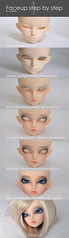 MNF Rheia Step by step (***Andreja***) Tags: by ball doll step bjd fairyland jointed mnf andreja faceup rheia