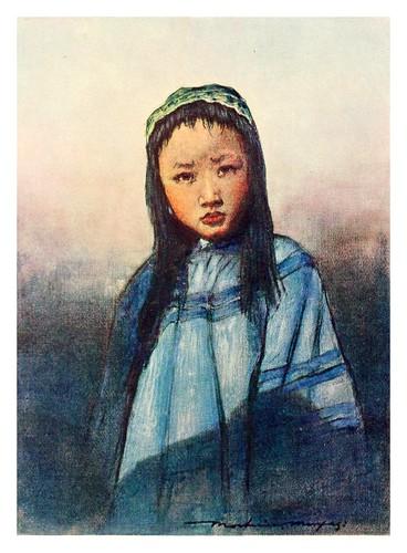 018-Una joven china-China 1909- Mortimer Menpes