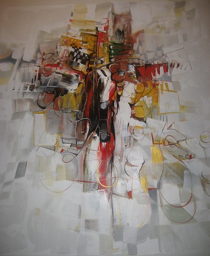 Crucifiction - Painting - Abstract