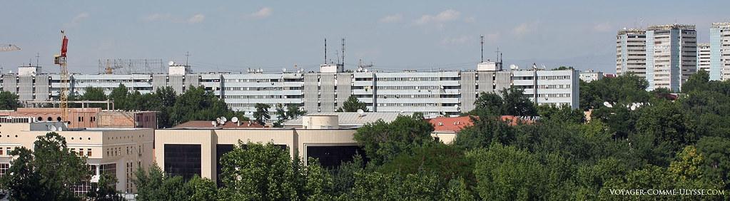 Bâtiments de l'ère soviétique