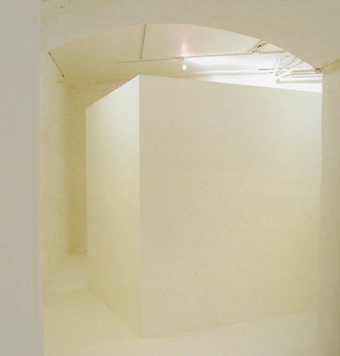 Patrick Ireland. White Cube (1998)