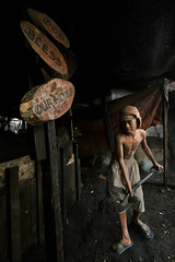 Ulingan, Tondo - GOD BLESS OUR HOUSE (Mio Cade) Tags: poverty boy house bernard work factory child god philippines joy charcoal manila bless sponsor tondo ulingan