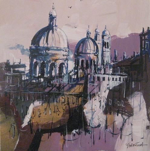 The Hidden City    Painting - Original
