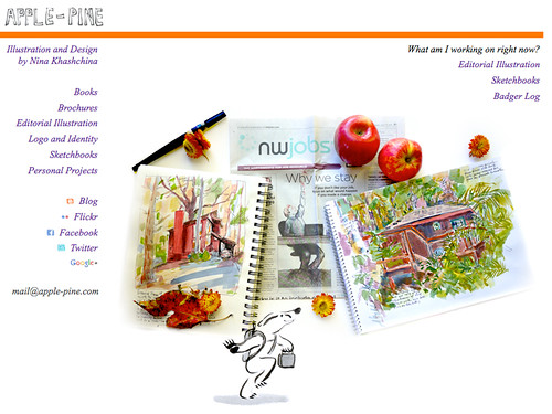 September 2011: New Home Page for the Web-Site
