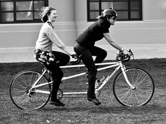 On the move (74Pics4U) Tags: street bw cycling forprint cotcpersonalfavorite 350org movingplanet