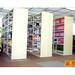 進豐角鋼架作為圖書館圖書架