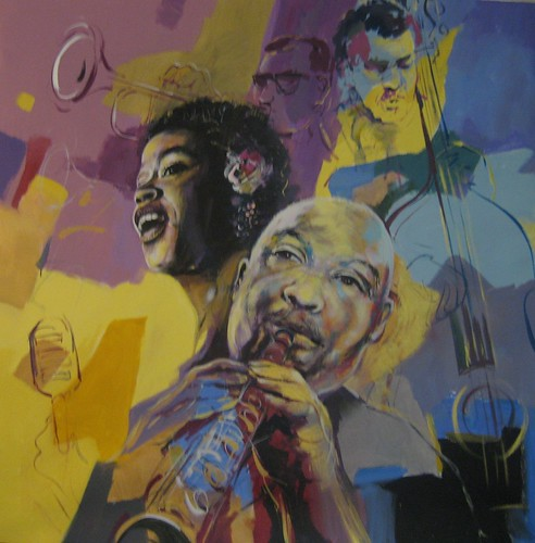 New York Jazz   - Painting