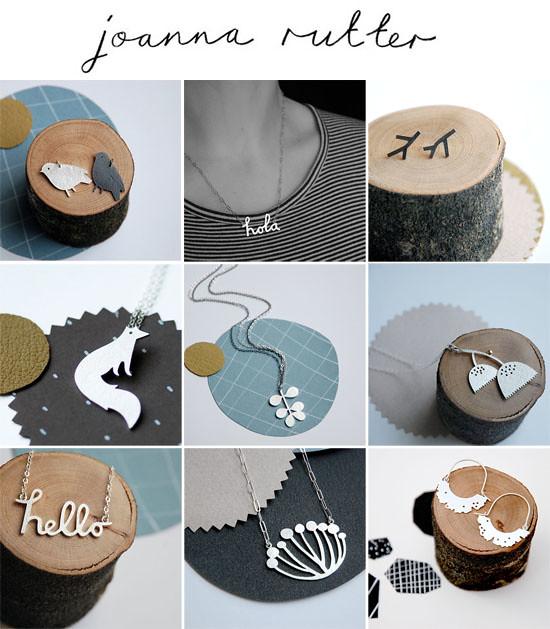 Joanna Rutter jewellery