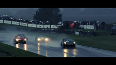 Cinematic Goodwood (autoidiodyssey) Tags: wet water rain movie widescreen ferrari cinematic racttcelebration 2011goodwoodrevival