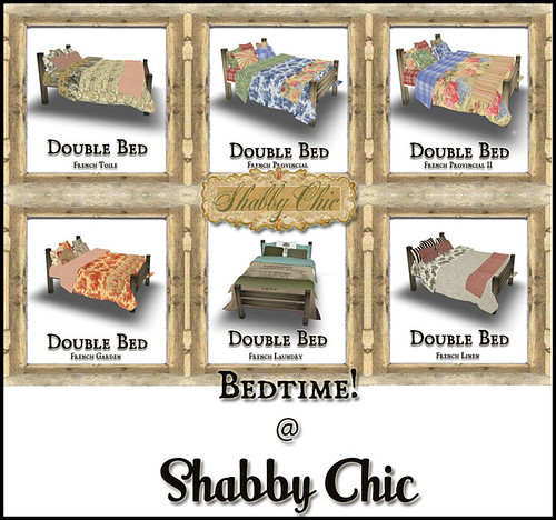 Bedtime at Shabby Chic by Shabby Chics