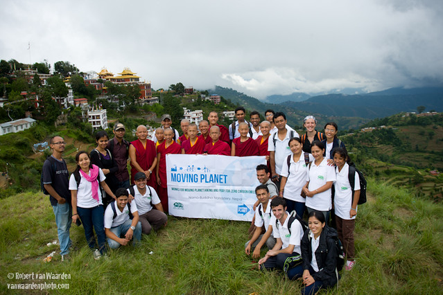 Moving Planet action in Nepal
