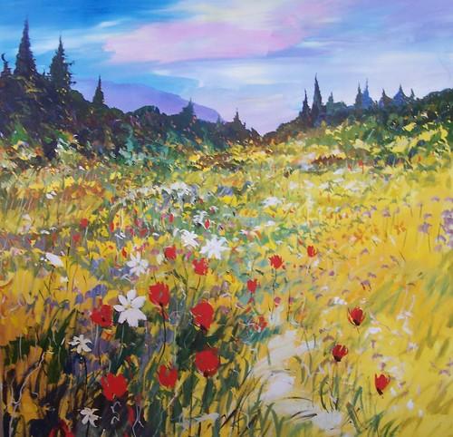 Okanogan - Painting - Impressionism