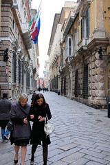 walking in via garibaldi
