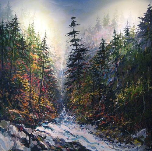 Free Spirit - Painting - Realism