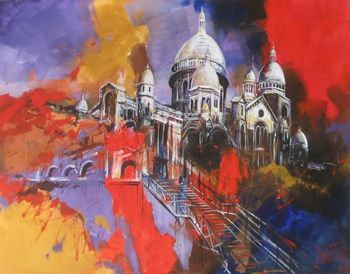 Montmartre - Painting - Impressionism