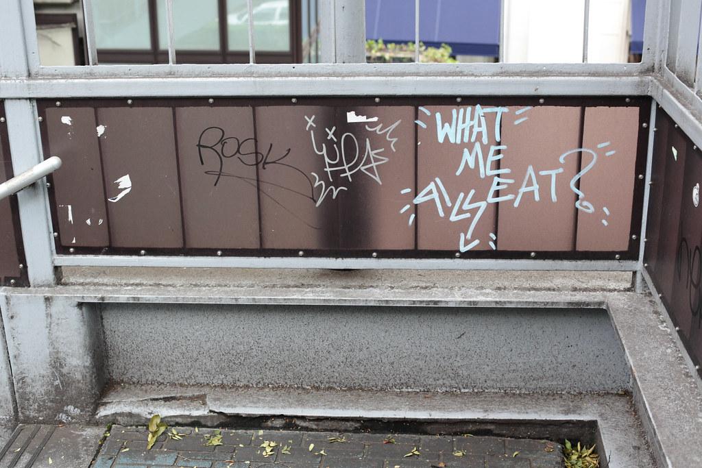 Graffiti tag in Tokyo